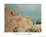 Cabane du Matin Posters by Claude Monet