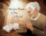 We Give Thanks (Prayer) Print