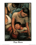 Sleep Diego Rivera Mother New Photo