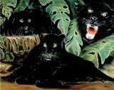 Black Panther (Collage) Prints
