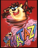 Looney Tunes Tasmanian Devil Razamataz Prints