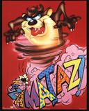 Looney Tunes Tasmanian Devil Razamataz Prints