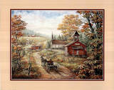 Horse Carriage (Landscape) Posters