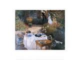Le déjeuner, 1869 Posters par Claude Monet