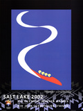 Bobsled Salt Lake City 2002 Olympics Posters by Pierre Matisse