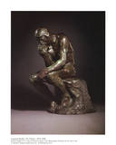 The Thinker Affischer av Auguste Rodin