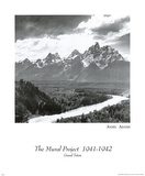 Grand Teton national park Ansel Adams Prints