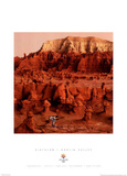 Biathalon Goblin Valley 2002 Salt Lake City Olympics Prints