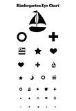 Kindergarten Eye Chart Prints