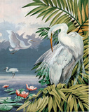 Three Egrets (Animal) Poster