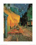 Pavement Cafe at Night Posters af Vincent van Gogh