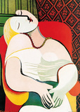 The Dream Affischer av Pablo Picasso