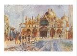 Venezia Piazza San Marco Prints by Pierre-Auguste Renoir