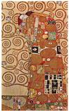 Uppfyllelse Affischer av Gustav Klimt
