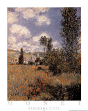 Panorama d'Ete Posters by Claude Monet