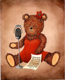 Teddy Bear (Radio Singer) Posters