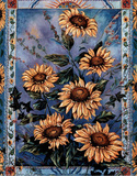 Chardonn Sunflower Poster