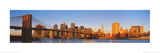 Manhattan Skyline Daylight Poster