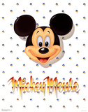 Mickey Mouse Portrait Print