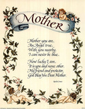 Mother (Poetry) Print