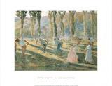 Les Faucheurs Prints by Henri Martin