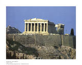 Parthenon Athens Greece Plakat