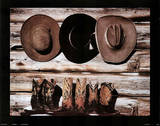 Boots and Hats Prints by David Stoecklein