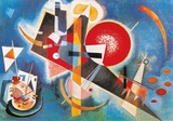 Im Blau Póster por Wassily Kandinsky