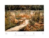 The Garden Le Jardin Poster von Édouard Manet
