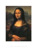 Mona Lisa Kunstdrucke von Leonardo Da Vinci