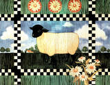 Country Lamb (Joan Cole) Posters
