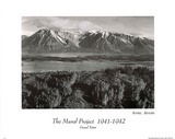 Grand Teton Poster by Ansel Adams