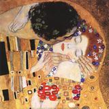 Kysset, udsnit Posters af Gustav Klimt