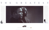 The Greatest: Muhammad Ali and Michael Jordan Kunstdrucke von Jim Secreto