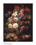 Floral Still Life Prints by Joseph Nigg