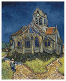 The Church at Auvers Posters af Vincent van Gogh