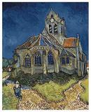 The Church at Auvers Poster von Vincent van Gogh