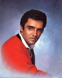 Elvis Presley Red Sweater Photo