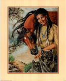 Maiden Native American Posters