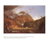 Mountain Pass Called the Notch of the White Mountains Prints by Thomas Cole