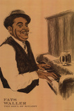 Fats Waller Posters by Clifford Faust