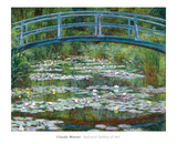 The Japanese Footbridge, c.1899 Prints by Claude Monet