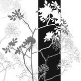 Decors en Noir et Blanc Print by Sandrine Guillou