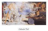 Apothéose d'Homère Affiches par Salvador Dalí