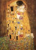 Gustav Klimt - Le Baiser - The Kiss - Reprodüksiyon