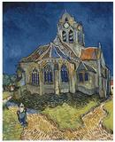 The Church at Auvers Kunstdrucke von Vincent van Gogh