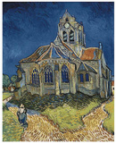 The Church at Auvers Prints by Vincent van Gogh