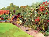 Solitary Gardener Posters