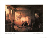 Blacksmith Shop Print by Edward Robert Smythe