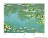 Waterlilies Posters af Claude Monet
